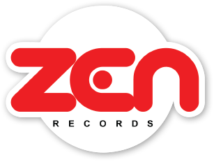 Zen Records Laptop Sticker
