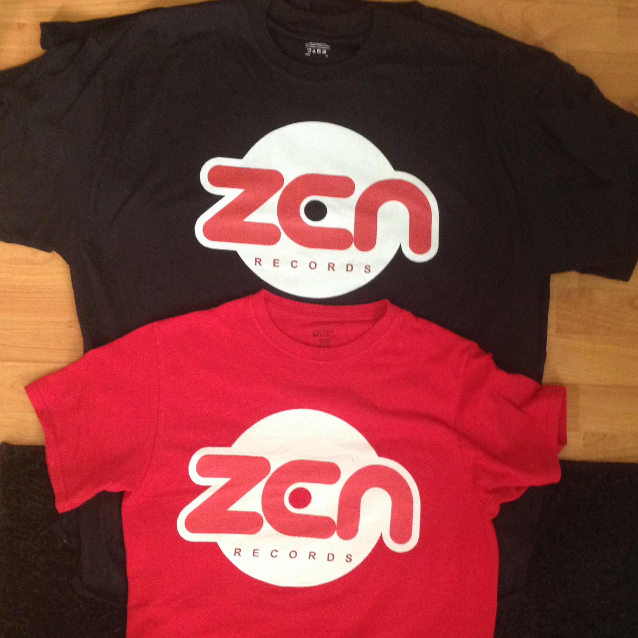 Zen Records Tee Shirts
